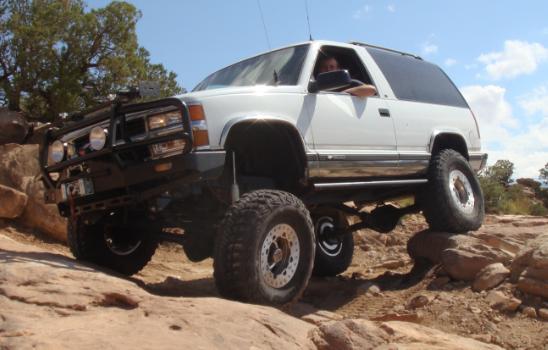 My Frankenstien - 95 Chevy 2-dr Tahoe LB7 / ZF6 swap
